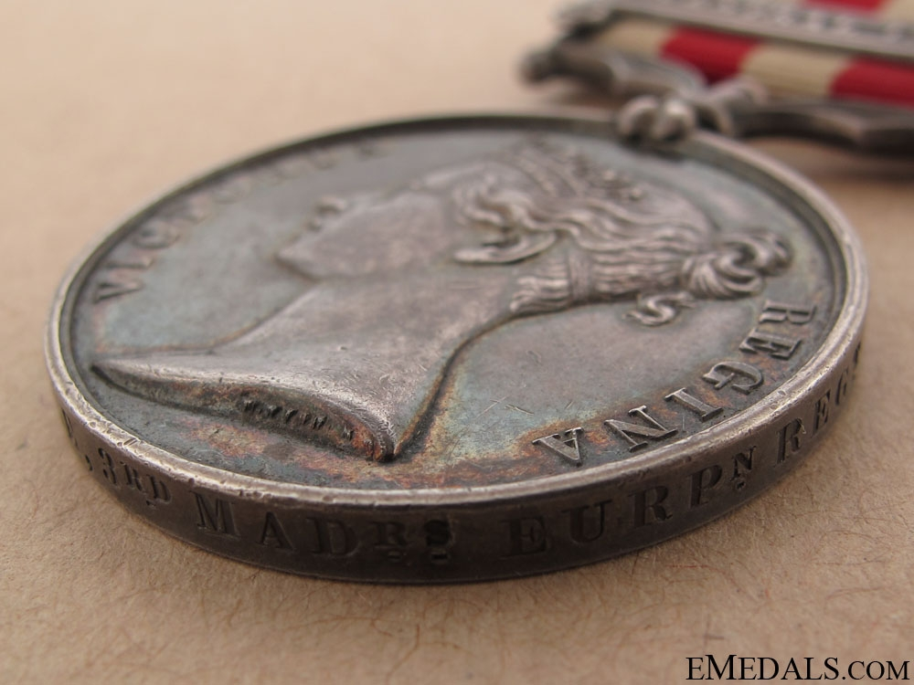 Indian Mutiny Medal 1857-58