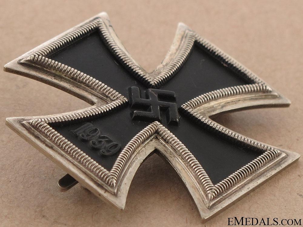 Iron Cross First Class 1939 - Named