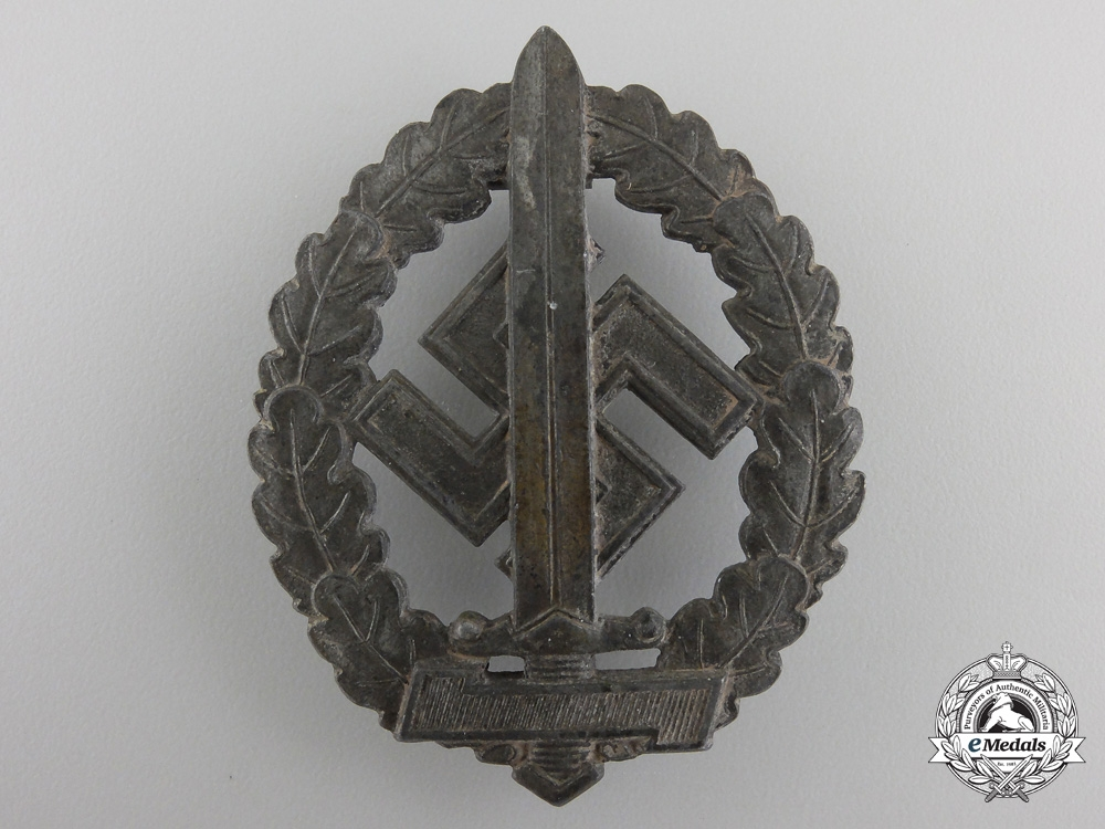 An SA Sport Badge for War Disabled byWerner Redo