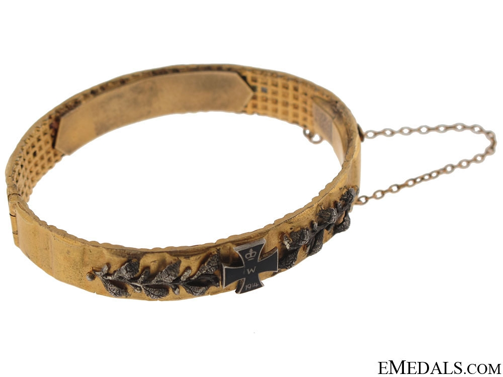German Patriotic Bangle 1914