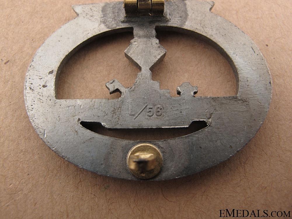 Submarine War Badge - maker L/56