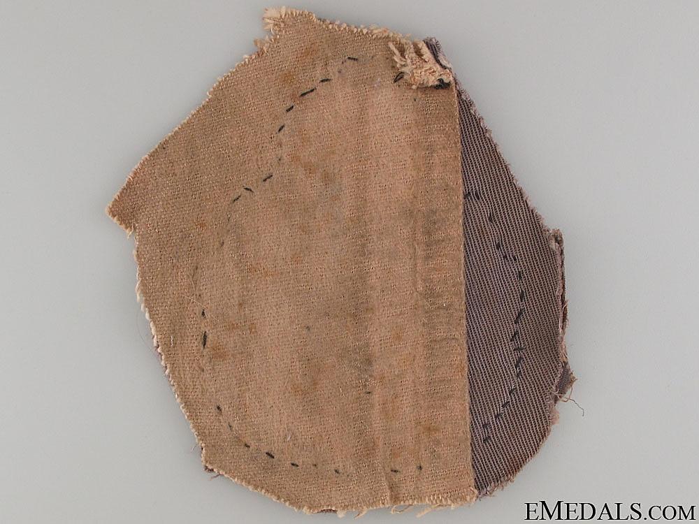 A Uniform Removed R.C.N.V.R. Jacket Patch