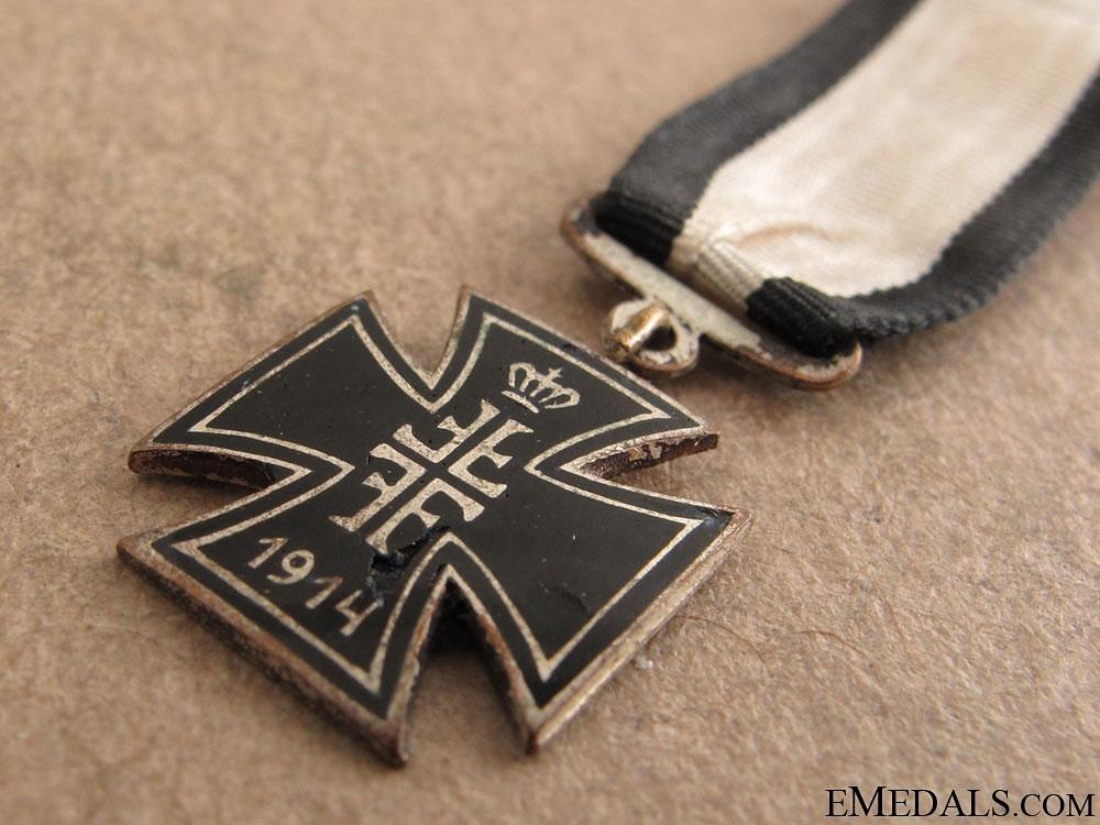 Miniature Iron Cross 1914
