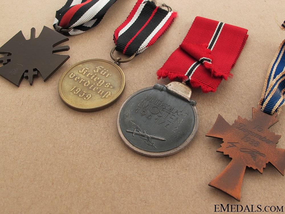 Four Third Reich Period Awards