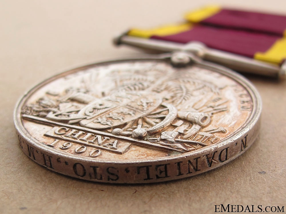 China Medal 1900 - HMS Pique