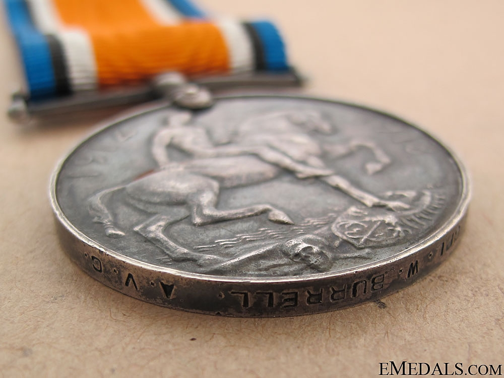 British War Medal - Army Veterinary Corps