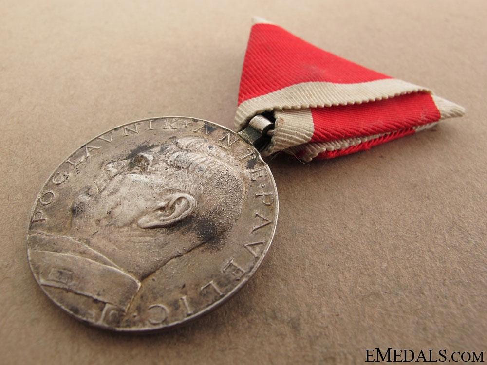 Croatian Medal & Photo