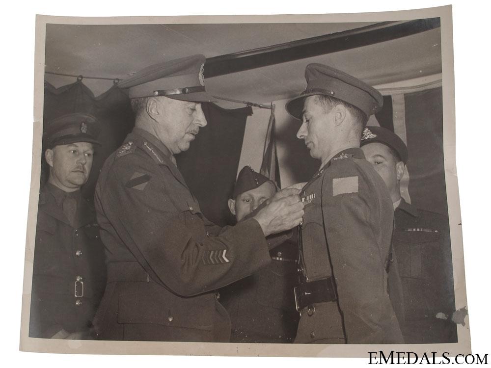 WWII General H.D.G. Crerar Press Release Photos