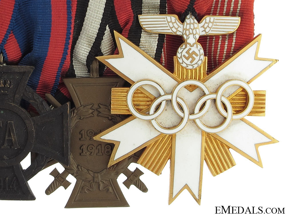 An 1936 Olympic Decoration Group