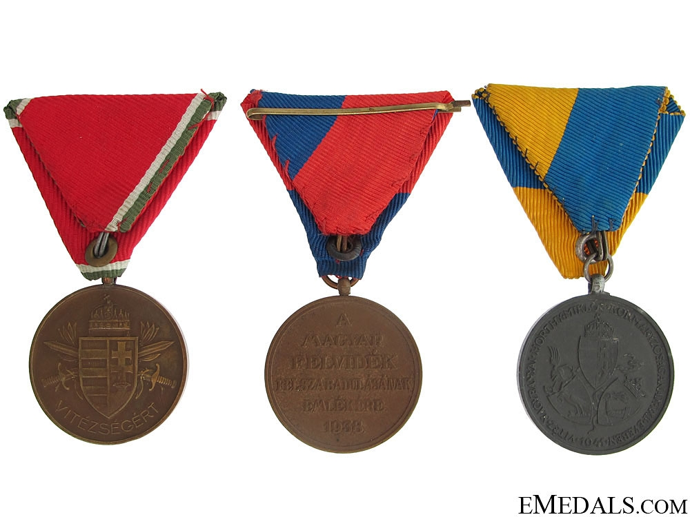 Three Hungarian Medals