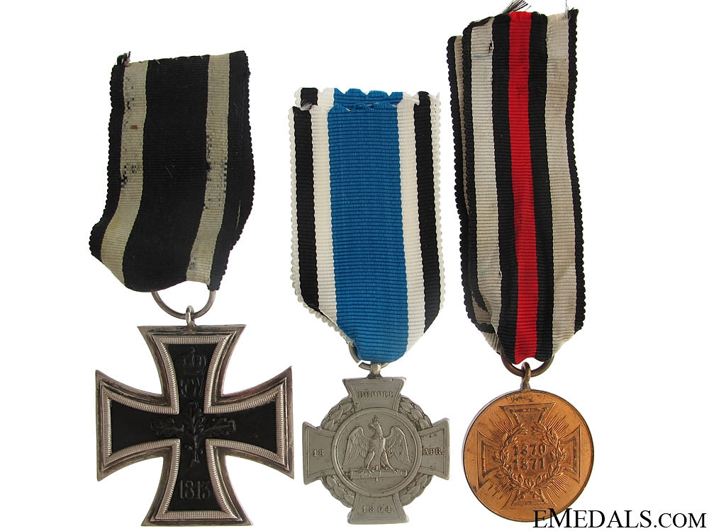 Three Imperial German Awards
