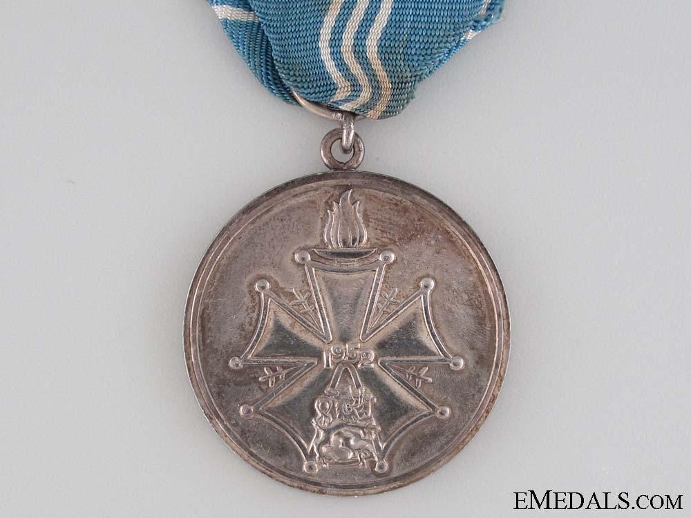 1952 Helsinki Olympic Merit Medal