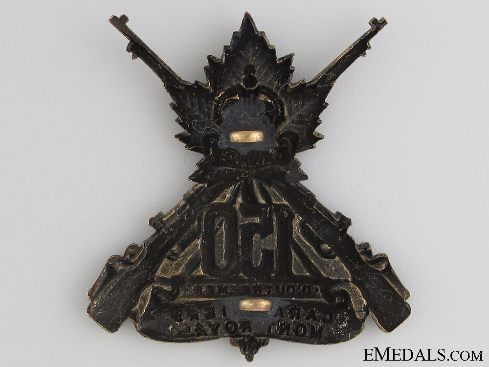 WWI 150th Infantry Battalion Cap Badge
