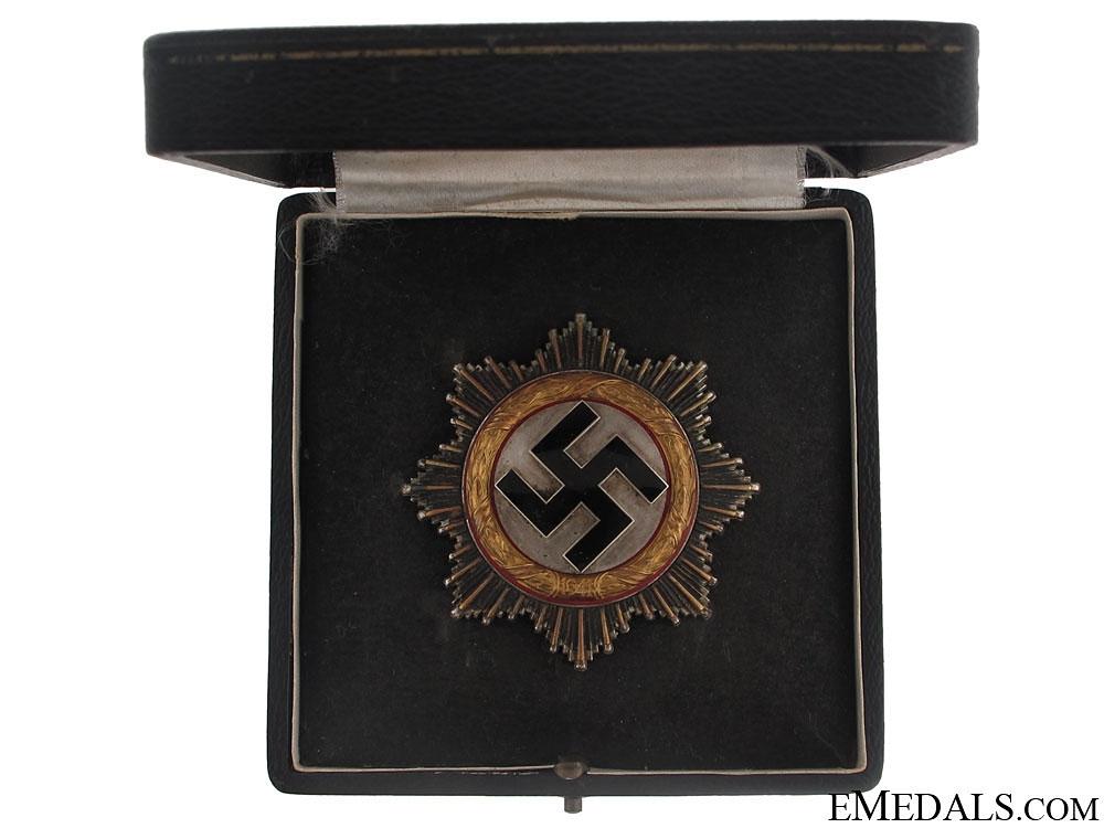 "German Cross in""Gold"" – Cased"