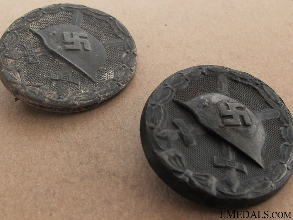 Two Wound Badges