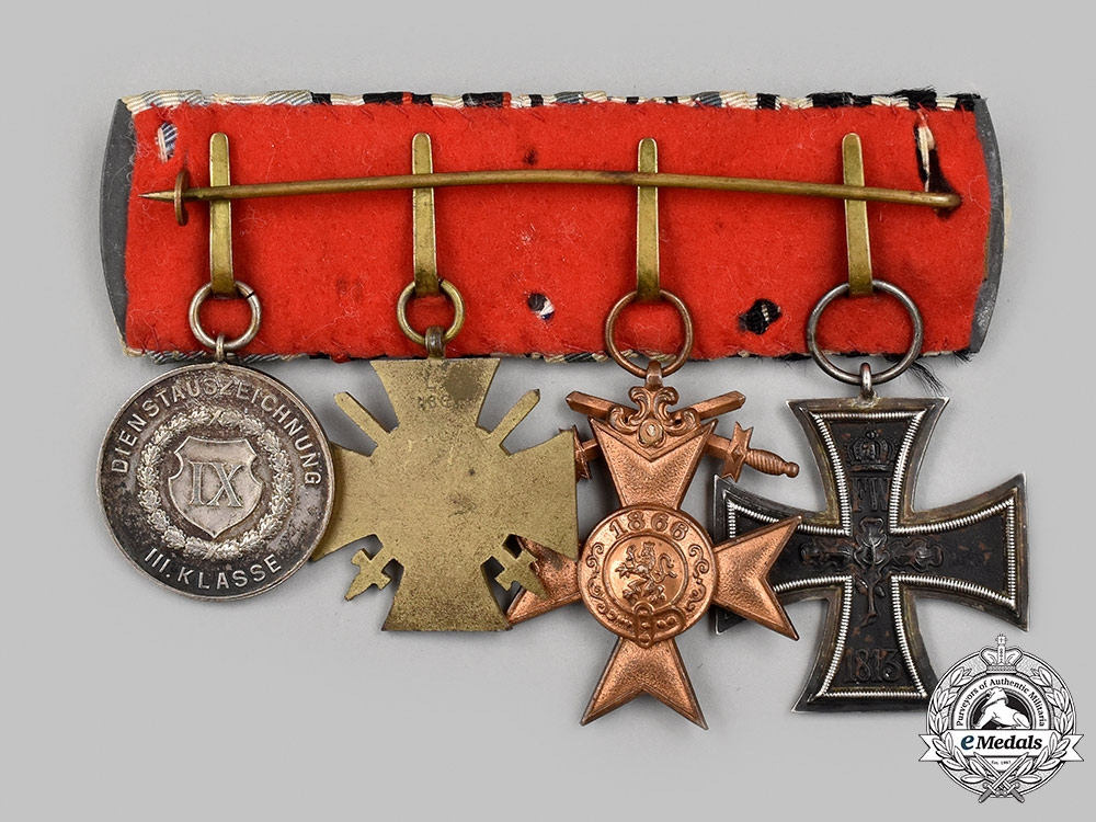 Germany, Imperial. A Medal Bar for First World War Service