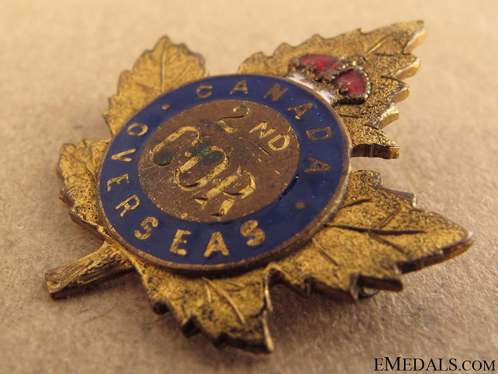 WWI 2nd Central Ontario Regiment Pin CEF