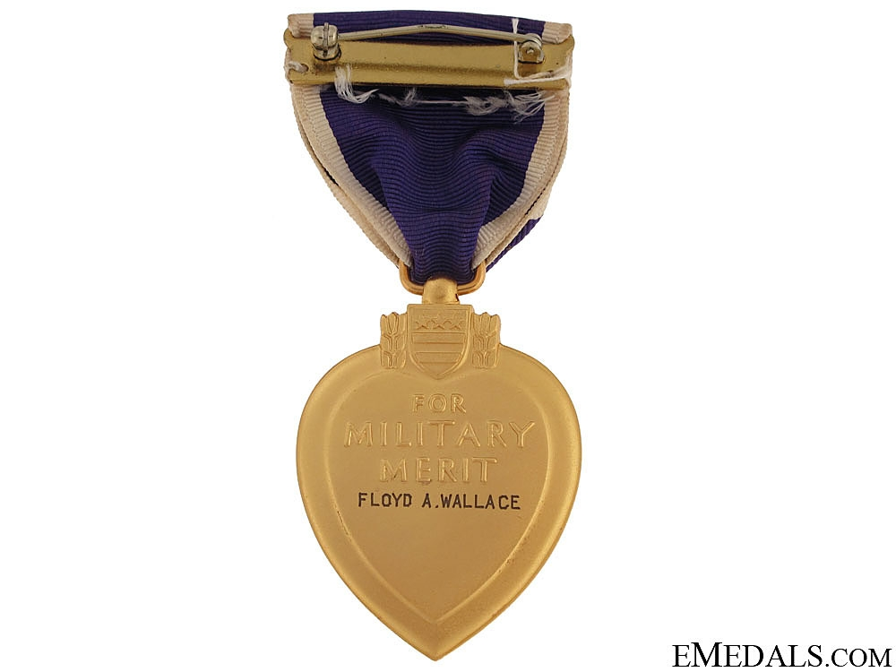 Second War Purple Heart - Cased
