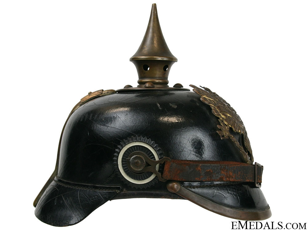 A Prussian Enlisted Man's Pickelhaube