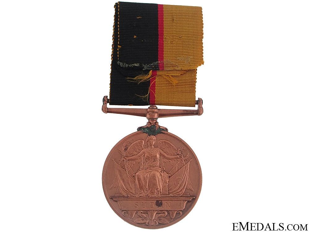 Queen's Sudan Medal 1896-1897 - Bronze