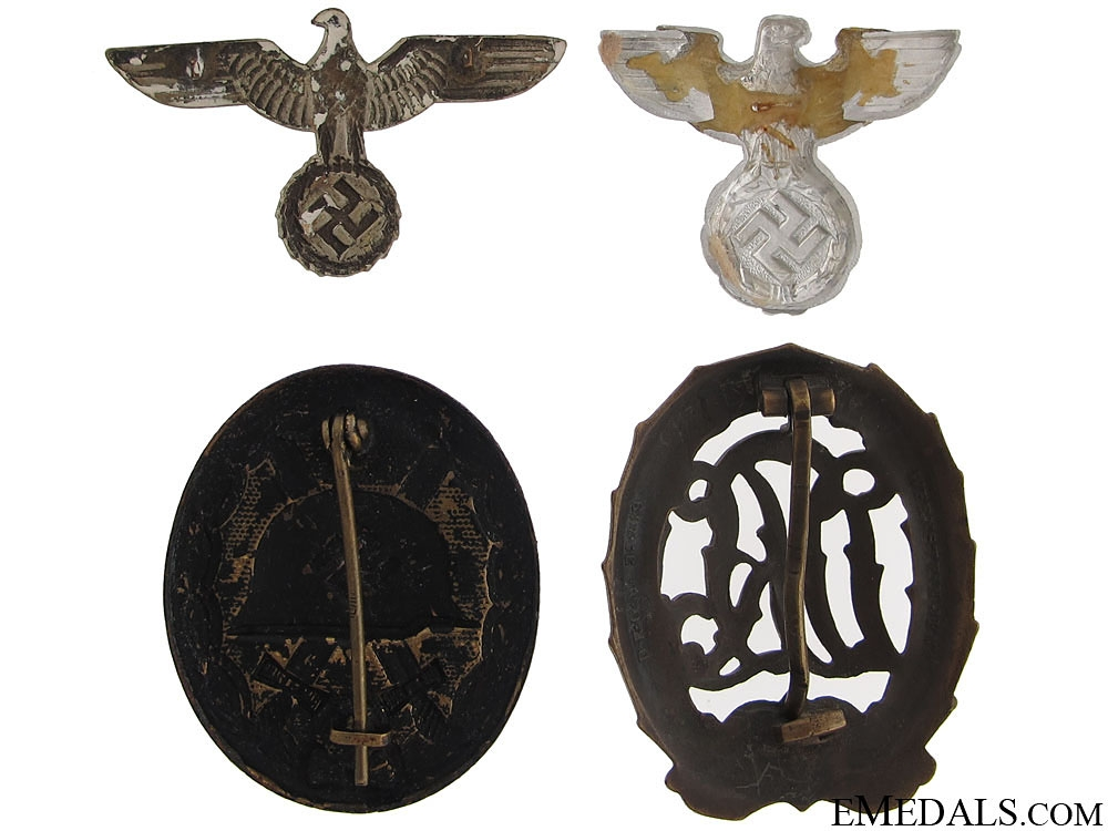 Four WWII German Items