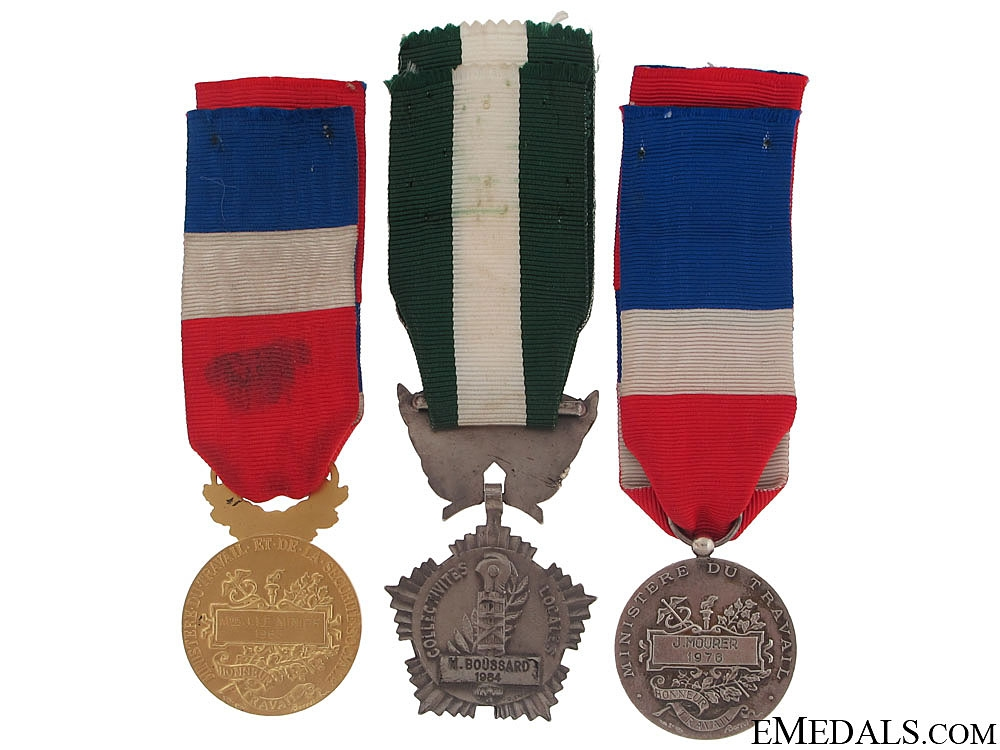 Three French Honour Awards