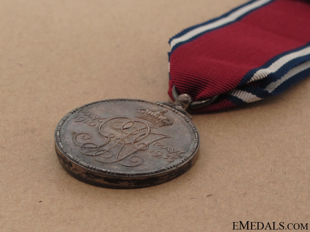 George V and Queen Mary Silver Jubilee Medal 1935