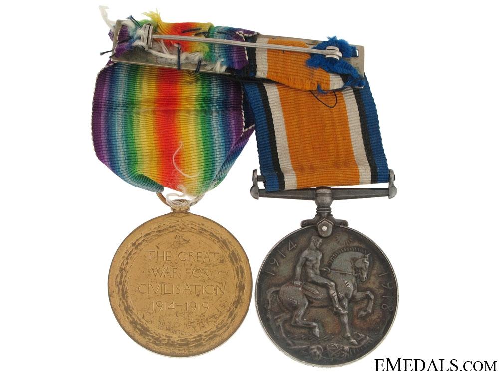 First War Pair to Lt.Mills - RAF