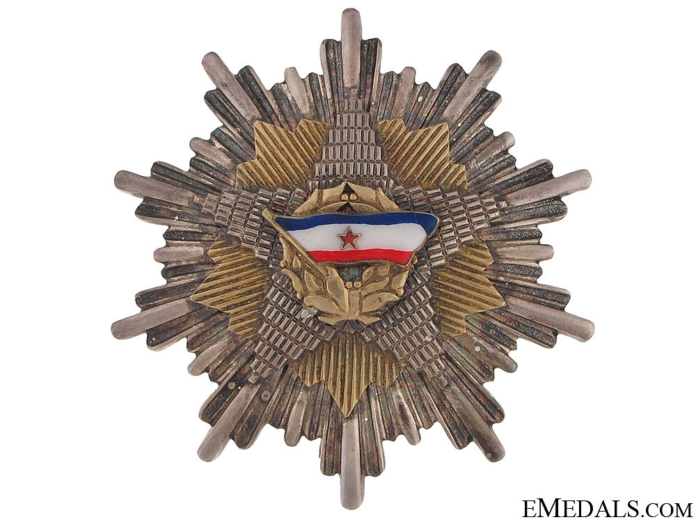 The Order of the Yugoslav Flag