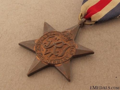 WWII France & Germany Star