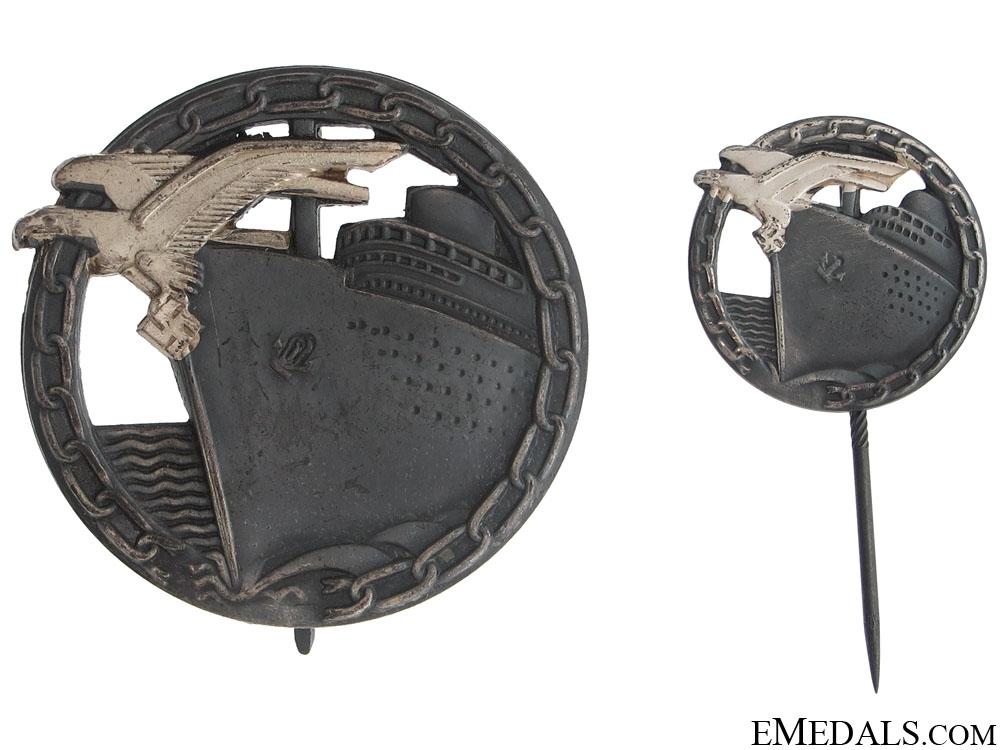 Blockade Runner Badges - Cased Set