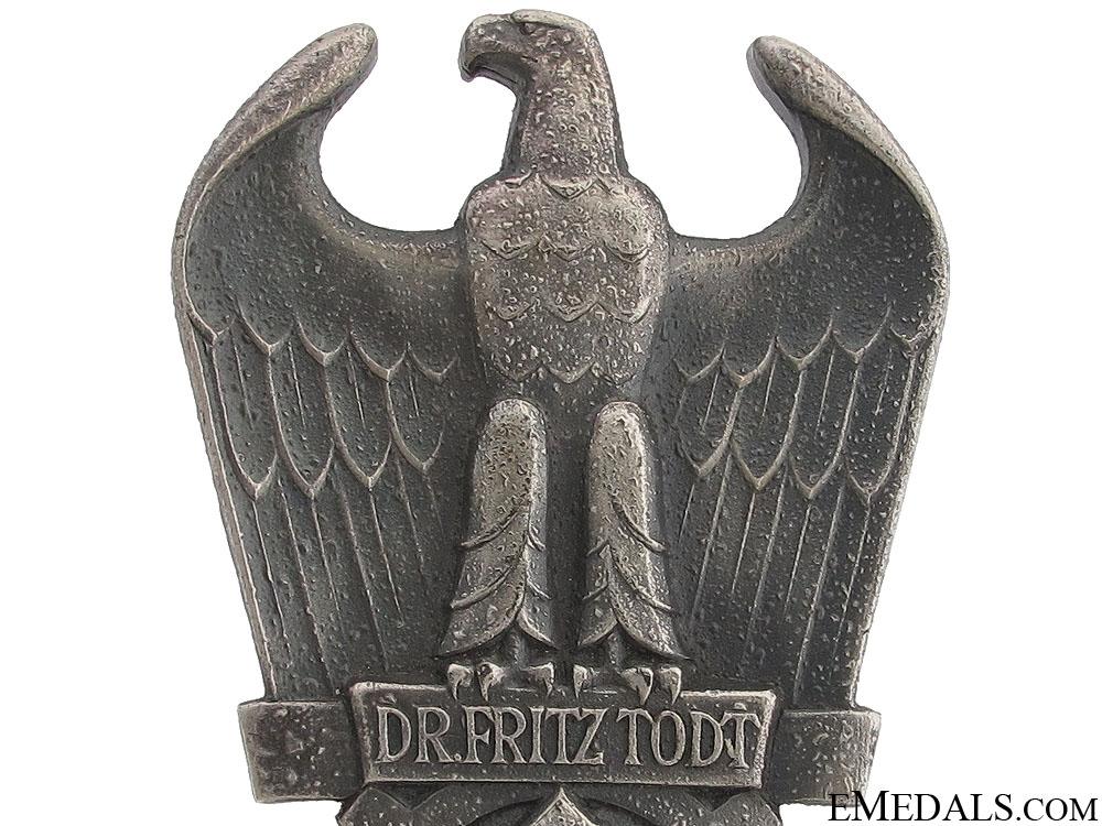 Dr. Fritz Todt Prize