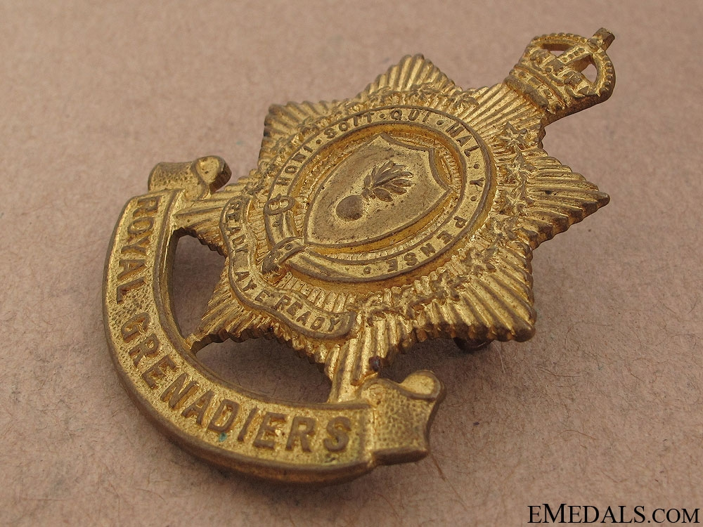 Royal Grenadiers (Toronto) Cap Badge
