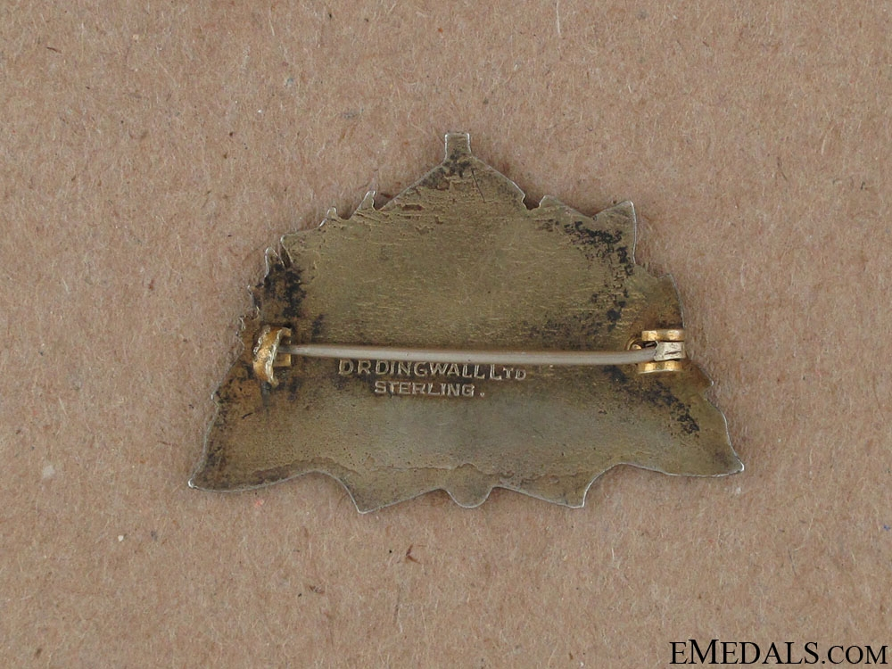 WWI 179th Cameron Highlanders of Canada Pin