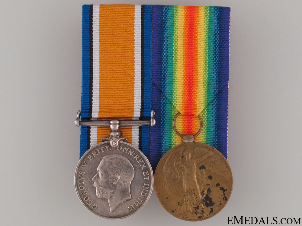 A First War Pair to the 2nd Canadian Infantry CEF
