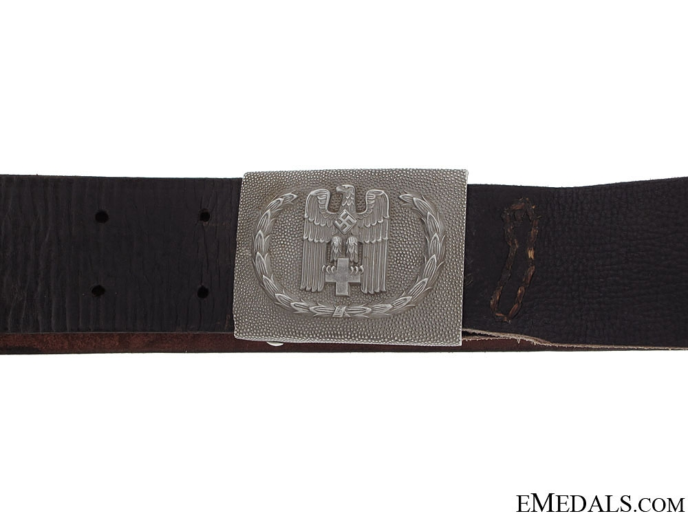 Red Cross Enlisted Belt & Buckle
