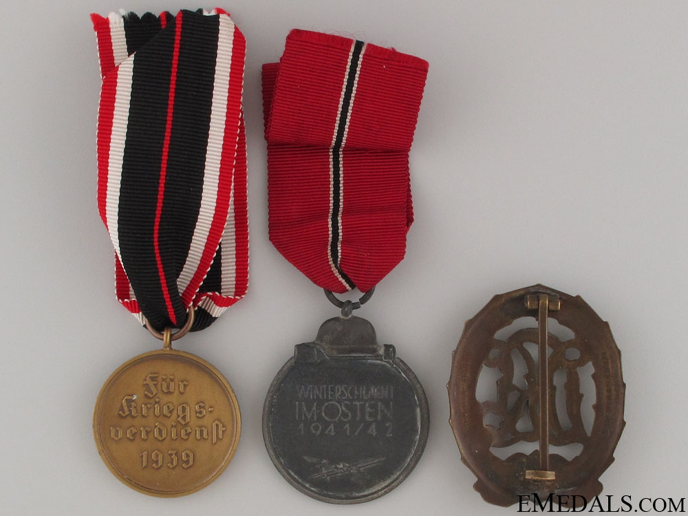 Three German Awards