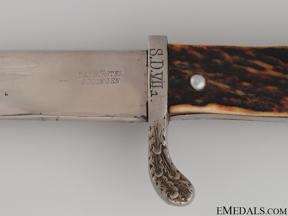 Unit Marked Police Long Bayonet by E&F Horster