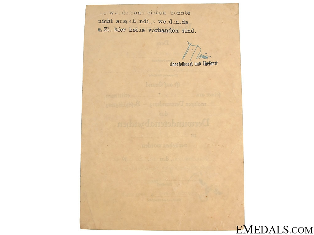 wo Documents to Obergefreiten, Gren. Rgt. 257