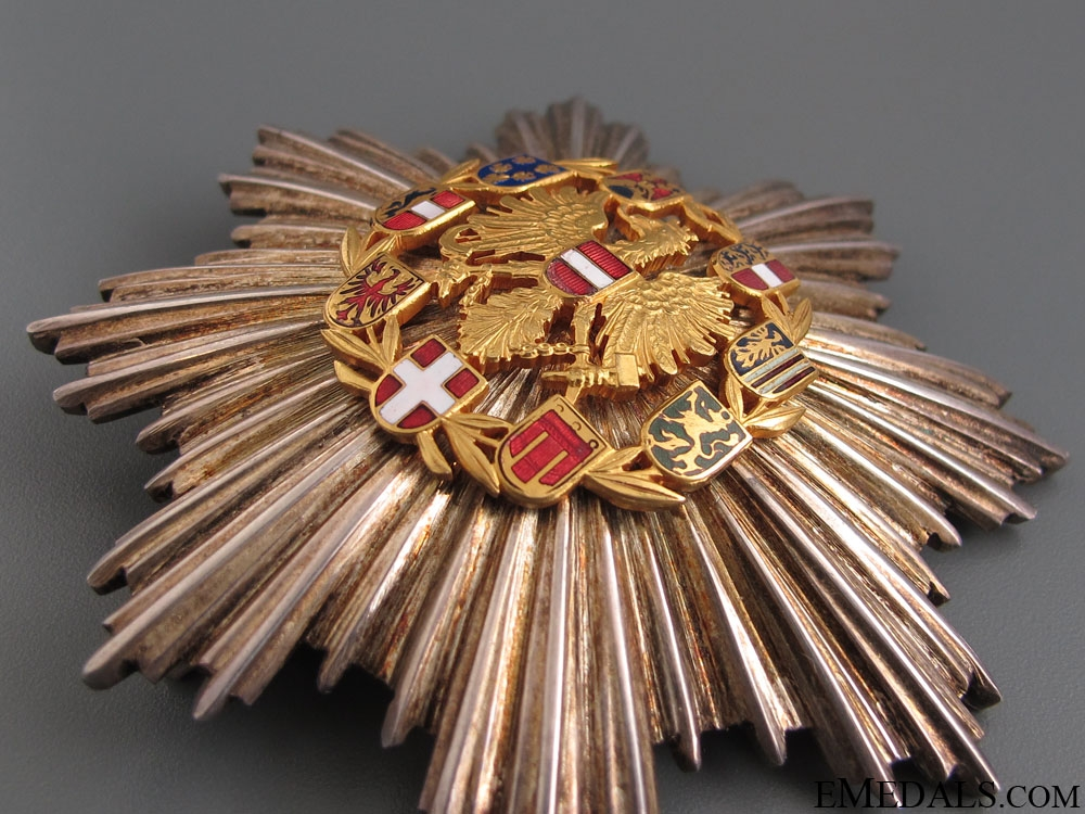 Honour Badge of Merit – Grand Cross Star 1952