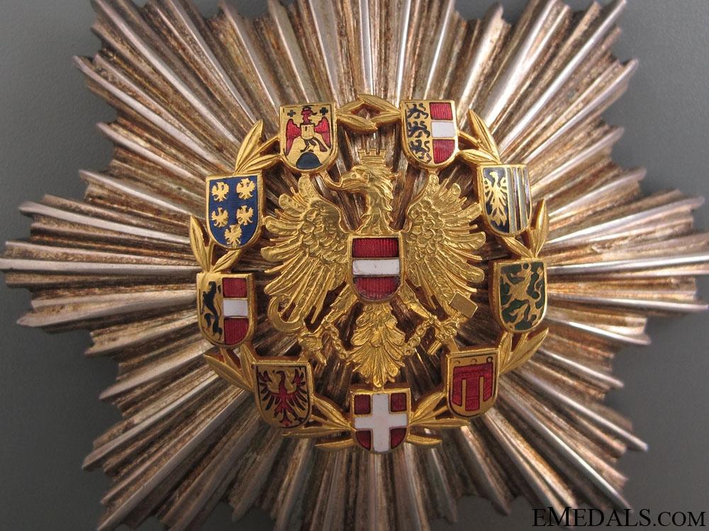 Honour Badge of Merit – Grand Cross Star 1952