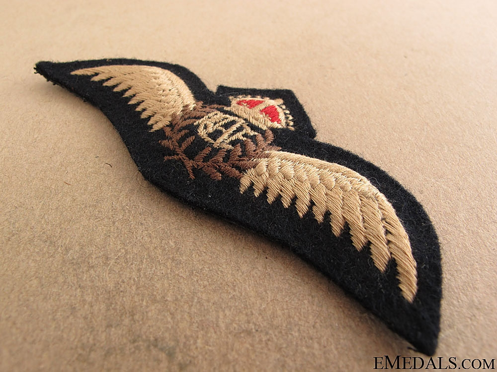 WWII Royal Canadian Air Force (RCAF) Pilot's Wings