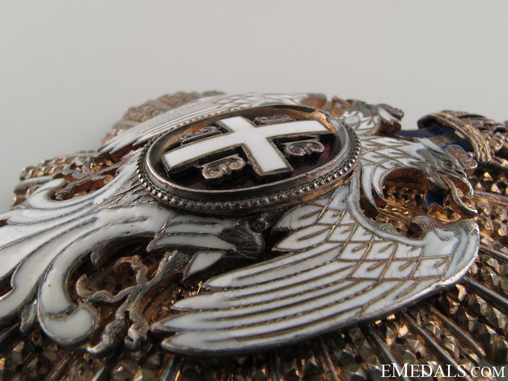 Order of the White Eagle - Grand Cross