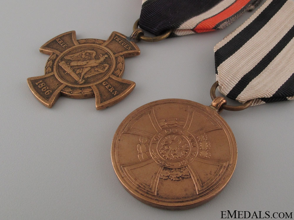 Two German Campaign Medals