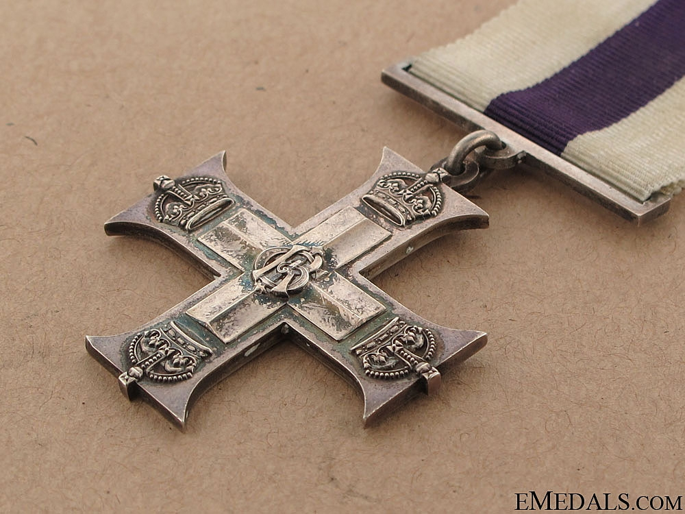 A WWI Military Cross - Royal Field Artillery