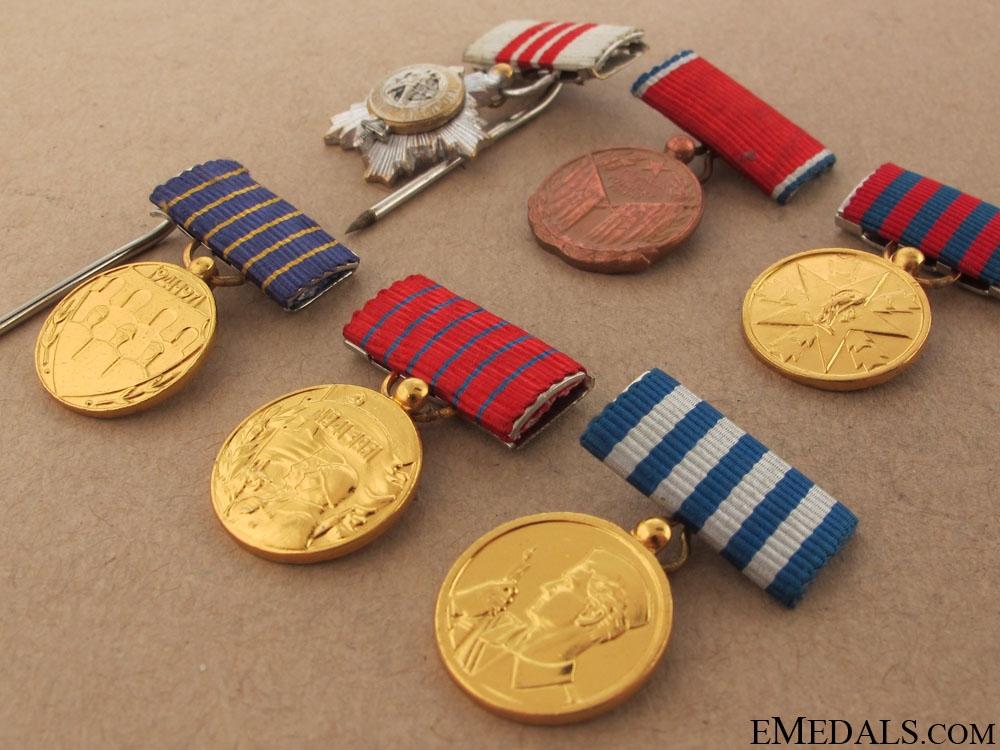 Six Yugoslavian Miniatures