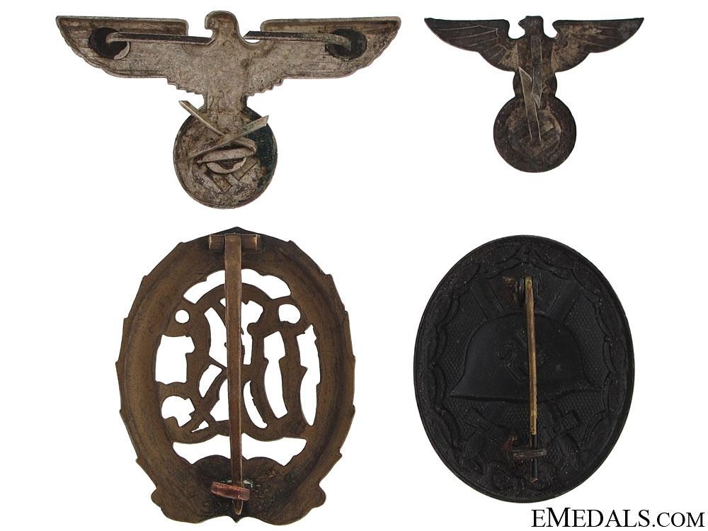 Lot of German Insignia & Badges
