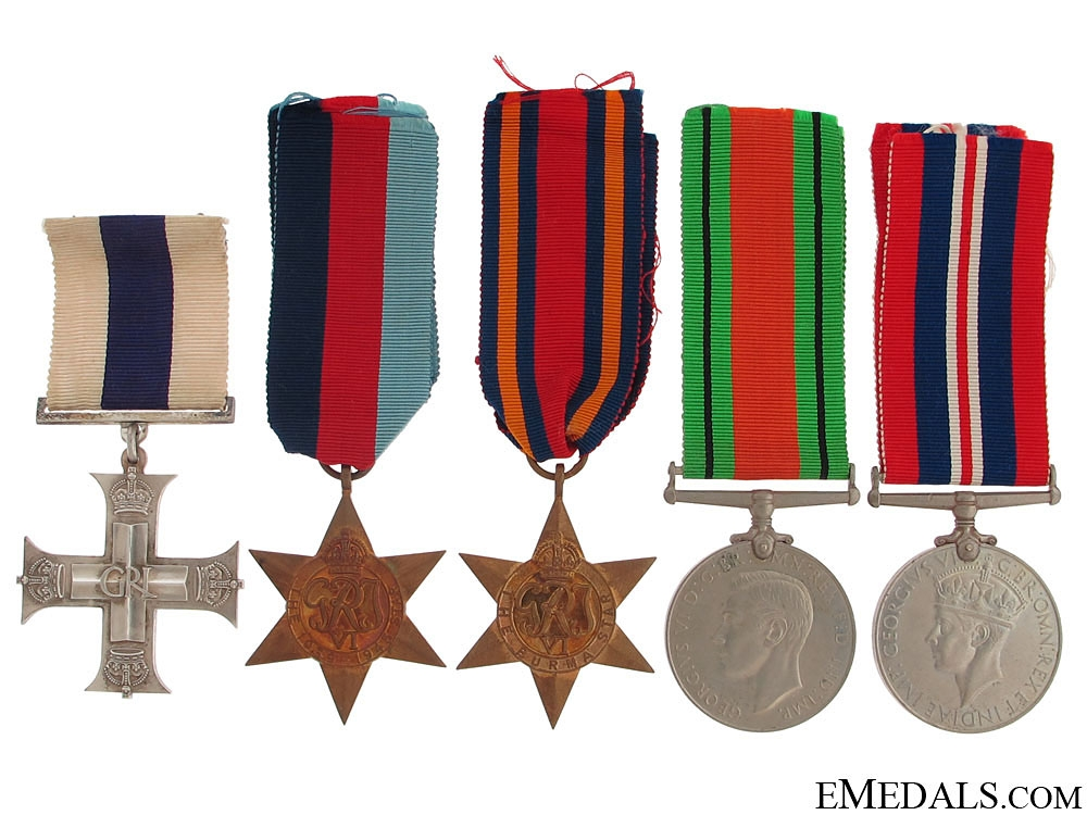 A Burma Theatre Military Cross Group