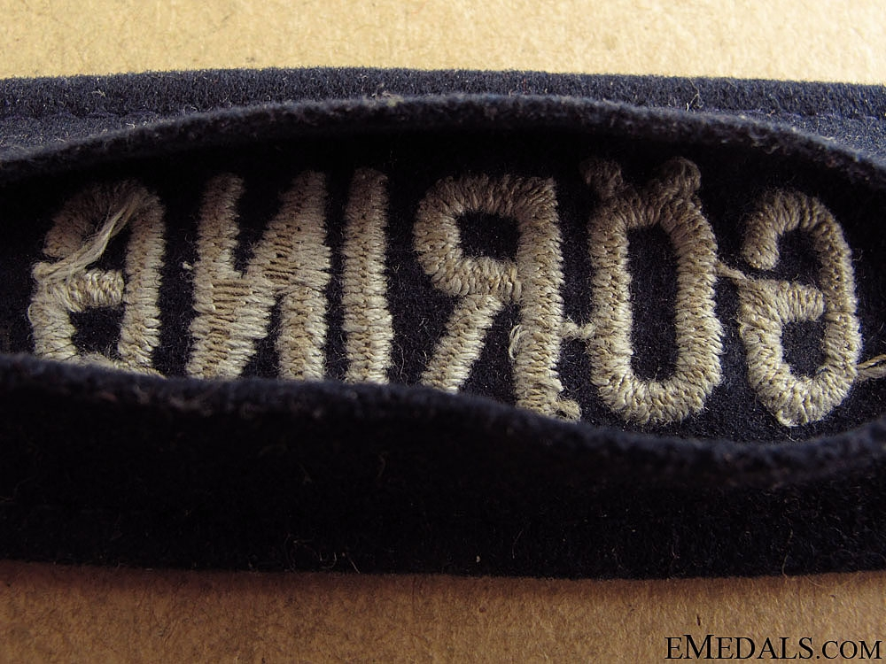 Hermann Göring Division Officer's Cufftitle