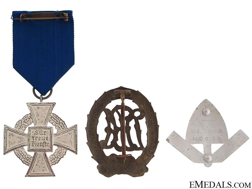 Three German Awards